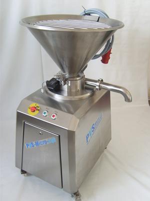Emulsificador PVS 125V Micro-cut